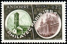 "ANDORRE FRANCAIS N° 171 "" PHILATEC 1964 PARIS LE GRAND PALAIS 25c "" NEUF xx TTB"