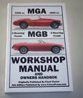 Repair Manual MG A 1500/1600 + MG B 1800, Year of Construction 1955 - 1981