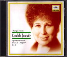 Gundula JANOWITZ: PORGI, AMOR Mozart Wagner Weber Oberon Rienzi BÖHM LEITNER CD