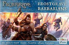 Northstar & Osprey Frostgrave: Barbarians Multi-part hard plastic 28 mm (20) New