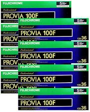 100x Fujichrome Provia 100F RDP III 135-36 Fuji Reversal 35mm Film Exp: 04/2017