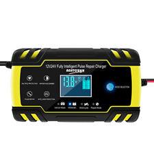 Smart Car Fast Power Charging Battery Charger Pulse Repair Starter 12V 24V UK