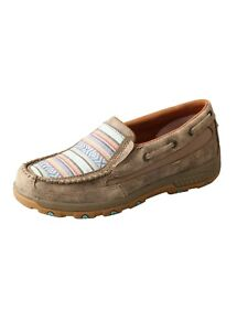 Twisted X Womens Aztec Cell Stretch Slip on