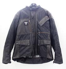 Señores motocicleta chaqueta Men Jacket cuero Triumph barbour aw16 talla xxl mtha 16555 nuevo