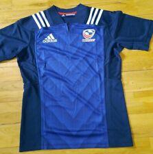 USA Rugby Shirt Jersey Adidas Blue / Navy Size M New