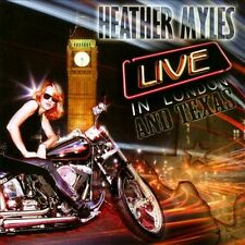 HEATHER MYLES - LIVE IN LONDON & TEXAS NEW CD