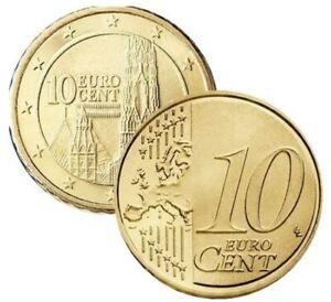 10 Cent Euro Autriche 2019 - Pièce Neuve