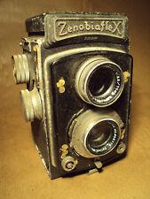 ZENOBIAFLEX VINTAGE 6X6 TLR CAMERA - JAPANESE - RARE - MADE IN JAPAN RETRO 1950S