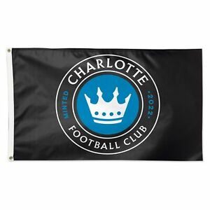 Charlotte FC WinCraft 3' x 5' 1-Sided Deluxe Flag