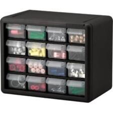 "Akro-mils 16-drawer Plastic Storage Cabinet - Floor, Wall Mountable - 8.5"""