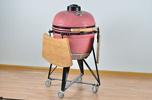 """YNNI KAMADO 20"""" Bespoke Oven BBQ Grill Egg inc Stand choice of colours TQ0020BE"""