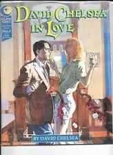 DAVID CHELSEA IN LOVE NO 1 ECLIPSE COMICS .