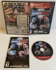 WWE SmackDown vs. Raw 2006 (Sony PlayStation 2, 2005) PS2 Complete w/ Manual