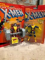 Colossus & Banshee UNCANNY X-MEN Marvel Action Figure Toy Biz Vintage 1993 XMEN