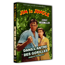"JIM LA JUNGLE (Dans l'antre des Gorilles) ""TARZAN"" Johnny Weissmuller"