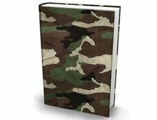 Extreme Book Sox Cover Green Camo Stretch Fabric NIP