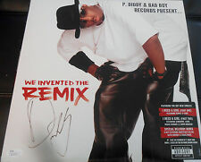 P. Diddy Signed We Invented The Remix Vinyl Album w/JSA COA Q30574 Puff Daddy