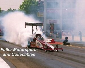 BLAINE JOHNSON TRAVERS NHRA TOP FUEL DRAGSTER 1996 8X10 PHOTO NATIONAL TRAIL