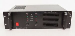 Crest Audio 3001 Professional Audio Amplifier Up to 1100 Watts