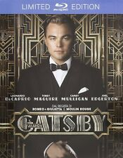 The Great Gatsby Blu-Ray Steelbook Leonardo DiCaprio - Import - Region Free -NEW