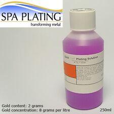 Gold Brush Plating Solution 250ml 24ct