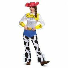 Disney Toy Story Cowgirl Jessie Deluxe Adult Womens Halloween Costume M 8 10