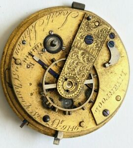 Liverpool Jewelled Lever Movement (No Reserve)