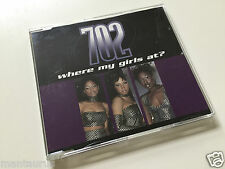 702 - Where My Girls At? - Maxi CD Single