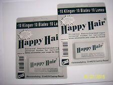 10  Spezial Haarschneideklingen Hairrmatic- Happy Hair- Happy Harry-Szabo usw.