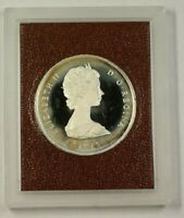 1975 Turks and Caicos Islands 20 Crowns Silver Proof Coin in Box W/ COA