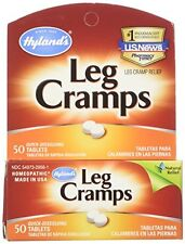 2 Pack Hyland's Leg Cramps 50 Quick Dissolve Tabblets Homeopathic Pain Relief