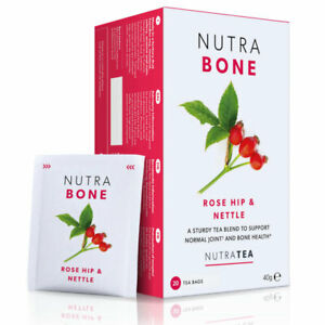 NutraTea Nutra Bone Rosehip & Devil's Claw 20 Teabags (Pack of 2)