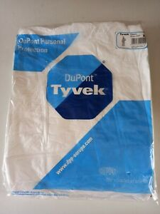 Dupont Tyvek Protective Clothing Disposable Overall - White - Size XL New