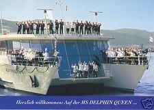"""Ak, danubio-buque MS """"delfín Queen"""", catamarán para 1999"""