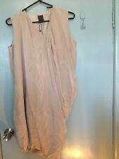 Calvin Klein beige silk dress new with tags in size 2
