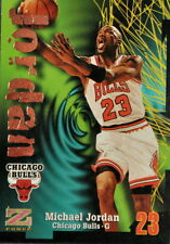 MICHEAL JORDAN 1997 BULLS SKYBOX Z FORCE STATS #23 NBA BASKETBALL CARD