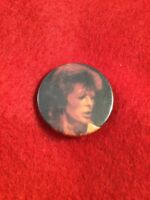 Vintage Retro David Bowie Souvenir Metal HAT TIE PIN BADGE Music Legend
