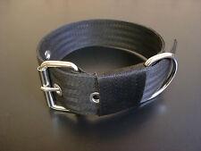 "BC4 Handmade Webbing Dog Collar 2"" wide Lurcher/Greyhound/Bull Cross 15""-20"""