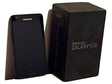 Samsung Galaxy S II GT-I9100  S2- 16GB - Noble Black Smartphone - BOXED & TESTED