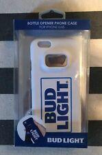 BUD LIGHT BOTTLE OPENER PHONE CASE FOR IPHONE 6/6S NEW WHITE