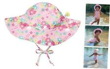 Baby & Toddler Brim Sun Protection Hat 0-6 Months Light Pink Dragonfly Floral