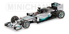MINICHAMPS 410 140344 MERCEDES AMG F1 model L Hamilton Win Chinese GP 2014 1:43