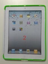 iPad 2 / 3 Compatible Smart Cover Soft Gel Case in Green by Flexfirm