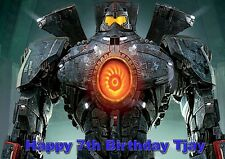 Personalized Pacific Rim Birthday Card, Any Name & Age Free p&p