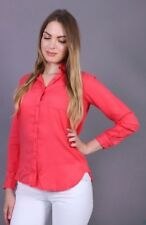 ZARA Neon pink Shirt/Blouse/Top Size Small Z1975 Collection