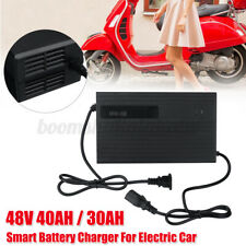 48V 30000-40000mAh Battery Charger Charging For Electric Car Bike Electromobile