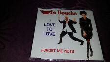 La bouche/I Love to Love-Forget Me deviennent-MAXI CD