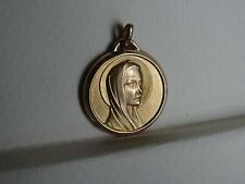 Religion Medaille Maria Halo gold colour MR 435