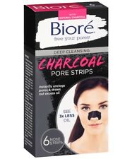 Biore Nose Pore Strips Deep Cleansing Charcoal, 6 Strips 019100207431D510
