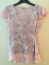 Waist Length V Neck Plus Size VILA Tops & Shirts for Women